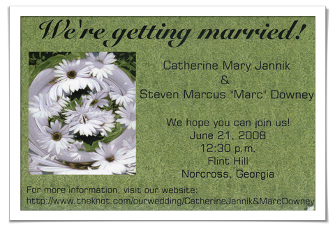 Catherinesweddinginvitation